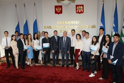 Финал «Школы парламентаризма» в КБР